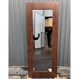 Сенатор Премиум 3к Пастораль цвет Берёза морёная с ударопрочным Зеркалом входная стальная дверь