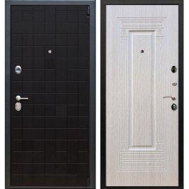 Сенатор Тетрис 3к ФЛ-4 цвет Беленый дуб входная стальная металлическая дверь