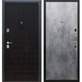 Сенатор Тетрис 3к ФЛ-290 цвет Бетон темный входная стальная металлическая дверь