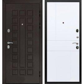 Входная металлическая стальная дверь Йошкар-Ола Senator ФЛ-290 цвет Белый софт