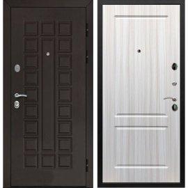 Входная стальная металлическая дверь Сенатор ФЛ-117 цвет панели Сандал белый