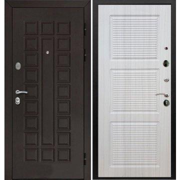 Входная металлическая стальная дверь Йошкар-Ола Senator ФЛ-1 цвет Белый Сандал