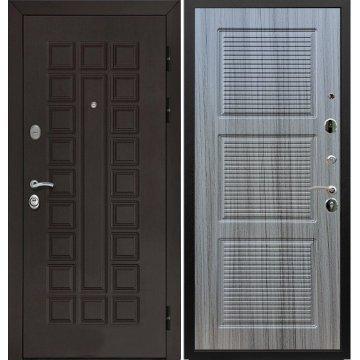 Входная металлическая стальная дверь Йошкар-Ола Senator ФЛ-1 цвет Сандал серый