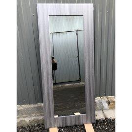 Сенатор Премиум - H Пастораль цвет Сандал серый с ударопрочным Зеркалом входная стальная металлическая дверь