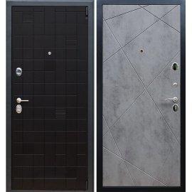 Сенатор Тетрис 3к Лучи цвет Бетон тёмный входная стальная металлическая дверь