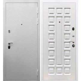 Входная металлическая дверь Сенатор Триумф 3к ФЛ-183 Белый ясень