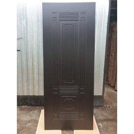 Входная стальная металлическая дверь Премиум 3к цвет Венге / Венге ФЛ-2
