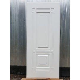 Входная стальная металлическая дверь Премиум 3к цвет Венге / Белый силк сноу ФЛ-2