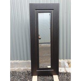 Сенатор Премиум 3к с противоударным Зеркалом цвет Венге / Венге входная стальная металлическая дверь