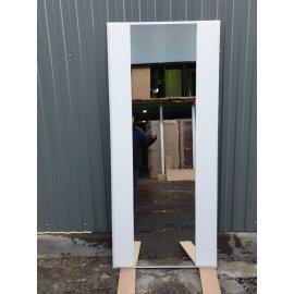 Сенатор Премиум 3к с противоударным Зеркалом СБ - 16 цвет Белый силк сноу входная стальная металлическая дверь