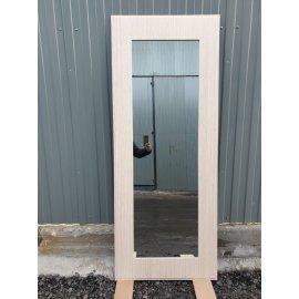 Сенатор Премиум - H Пастораль цвет Дуб белёный с ударопрочным Зеркалом входная стальная металлическая дверь