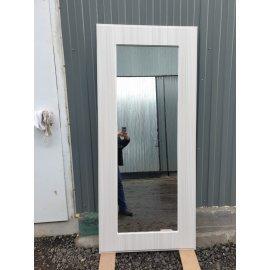 Сенатор Премиум - H Пастораль цвет Лиственница беж с ударопрочным Зеркалом входная стальная металлическая дверь