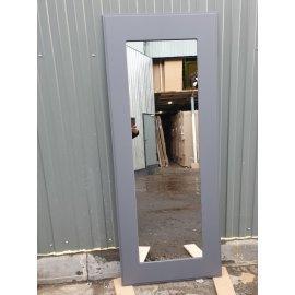 Сенатор Премиум - H Пастораль цвет Графит софт с ударопрочным Зеркалом входная стальная металлическая дверь