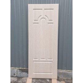 Входная металлическая дверь Премиум 5к цвет Беленый дуб
