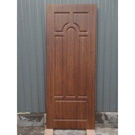 Входная металлическая дверь Премиум 5к цвет Орех Темный