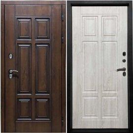 Входная металлическая дверь Терморазрыв Урал - 3К Винорит цвет - Сосна белая