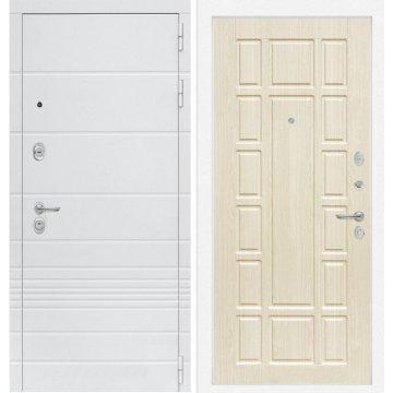 Входная дверь Классика ФЛ-12 Беленый дуб