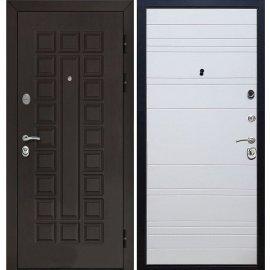 Входная стальная дверь Senator ФЛ-14 цвет Белый софт