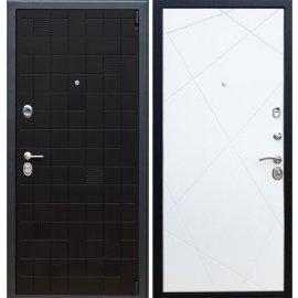 Сенатор Тетрис 3к -Лучи цвет Белый софт входная стальная металлическая дверь