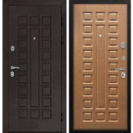 Входная стальная металлическая дверь Йошкар-Ола Senator ФЛ-183 Дуб светлый