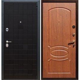 Сенатор Тетрис 3к ФЛ-128 цвет Орех темный входная стальная металлическая дверь