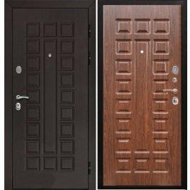 Входная стальная металлическая дверь Йошкар-Ола Senator ФЛ-183 цвет Тёмный Орех