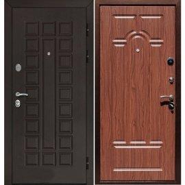 Входная стальная металлическая дверь Йошкар-Ола Senator ФЛ-58 цвет Орех темный