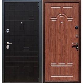 Сенатор Тетрис 3к Арка цвет Орех темный входная стальная металлическая дверь