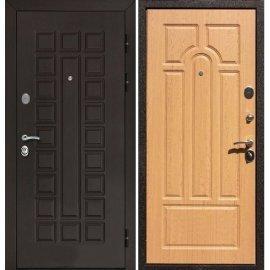 Входная стальная металлическая дверь Йошкар-Ола Senator ФЛ-58 цвет Дуб светлый