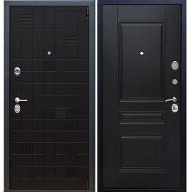 Сенатор Тетрис 3к ФЛ-243 цвет Венге / Венге входная стальная металлическая дверь