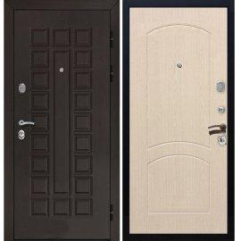 Входная стальная металлическая дверь Senator ФЛ-110 цвет Беленый дуб