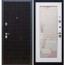 Сенатор Тетрис 3к Пастораль цвет Белый Ясень с ударопрочным Зеркалом входная стальная металлическая дверь