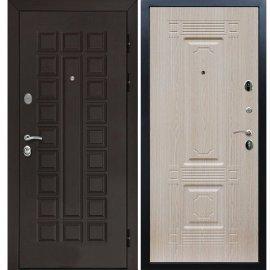Входная металлическая дверь Йошкар-Ола Senator Венге / ФЛ-2 Беленый дуб