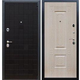 Сенатор Тетрис 3к ФЛ-2 Беленый дуб входная стальная металлическая дверь