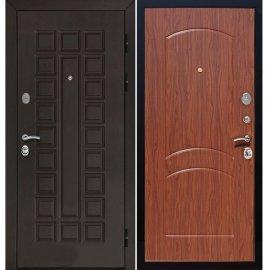Входная металлическая дверь Йошкар-Ола Senator ФЛ-110 цвет Тёмный Орех