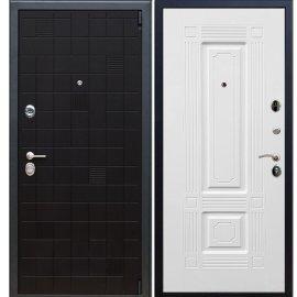 Сенатор Тетрис 3к ФЛ-2 цвет Венге / Белый силк сноу входная стальная металлическая дверь