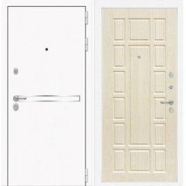 Входная металлическая дверь Сенатор Самальта ФЛ-12 Беленый дуб